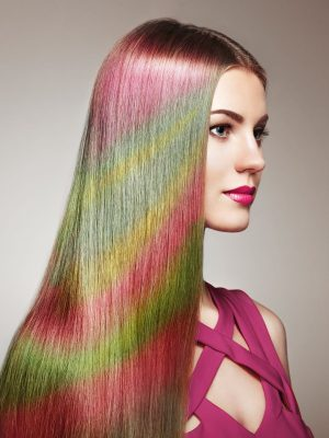 beauty-fashion-model-girl-with-colorful-dyed-hair-P2HTWW7